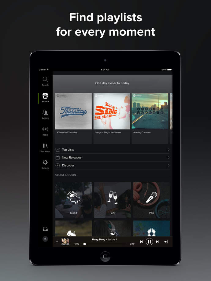 Spotify Music - iPhone Mobile Analytics and App Store Data