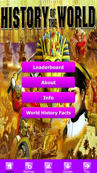 History of the World Trivia Quiz