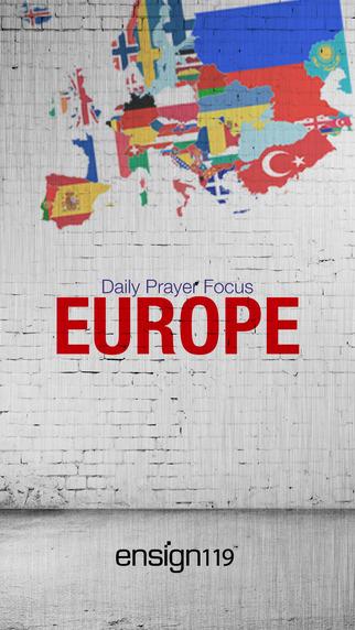 Daily Prayer Focus Europe