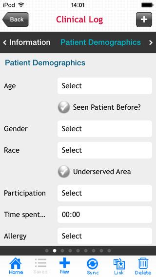 Nursing Procedure Log (nTrack) iPhone Screenshot 4