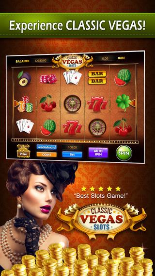 Classic Vegas Slots PRO : Jackpot Casino Slot Machine Game