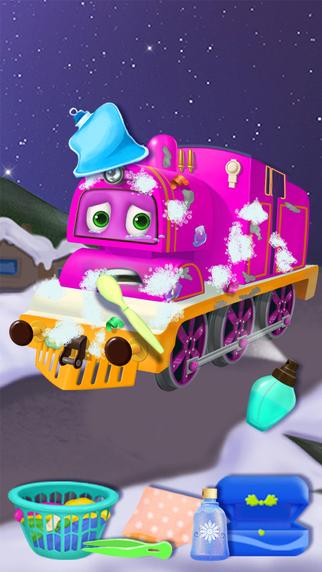 Polar Express Train: Winter Rescue Kids Games