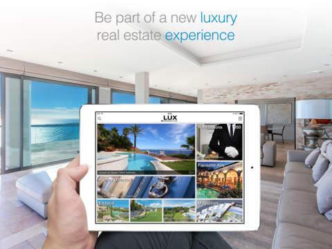 Lux-Residence - Prestige & Luxury real-estate iPad Screenshot 1