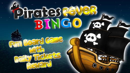 Pirates Fever Bingo Pro - fun board game with daily tickets reward
