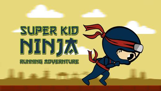 Super Kid Ninja Running Adventure - Awesome street Ninja race