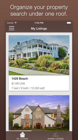 PropClip - Real Estate Search Manage Organize Your Property Search