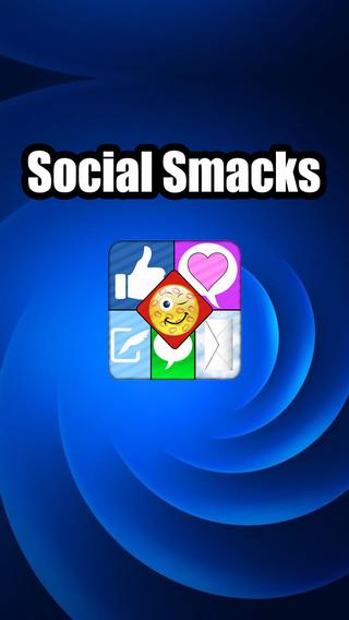 SocialSmacks Adult Emojis - Plus Fonts Backgrounds too