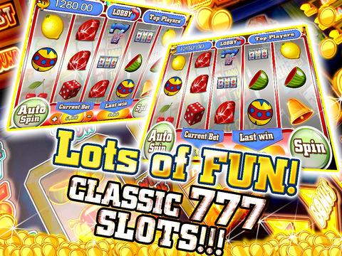 A A+ Aabys (Classic 777) Free - American Vegas Slot Machine-ipad-1