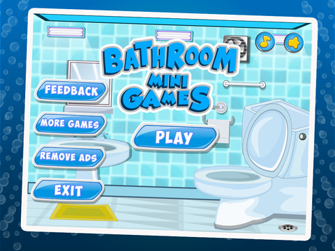Bathroom mini games crazy funny doodle games with for Bathrooms r us reviews