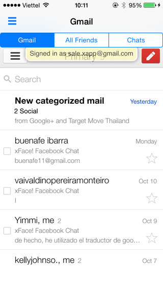 eMailChat for Gmail chat and free call
