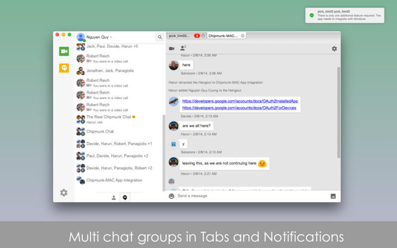 Hangouts Plus Screenshot - 2