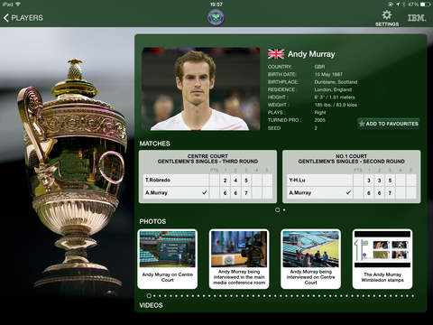 The Championships, Wimbledon 2015 - Grand Slam Tennis screenshot 3