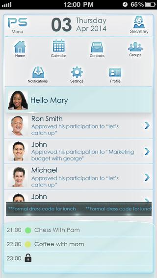 Private Secretary - Smart scheduling meeting coordinator