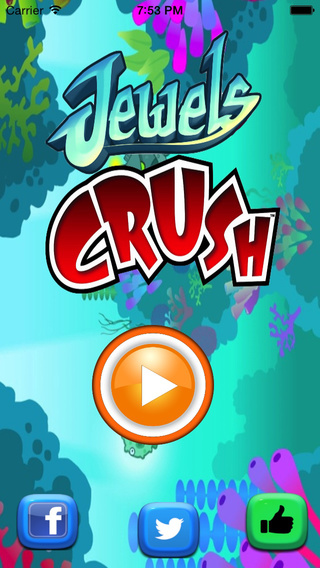 Jewels Crush Mania-The best top match 3 game for kids and family