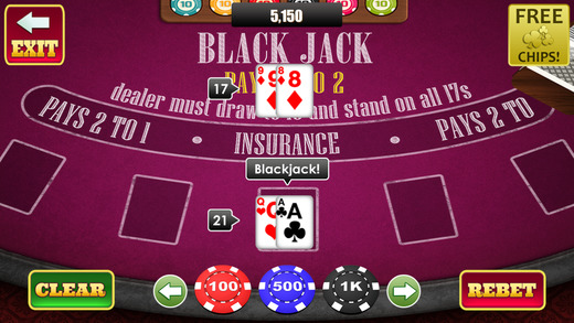 Aace Jack Elite Blackjack - Double Down and Win Big