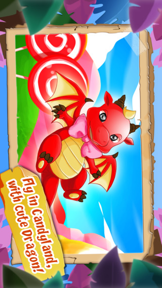 Awesome Candy-land Dragon Escape HD