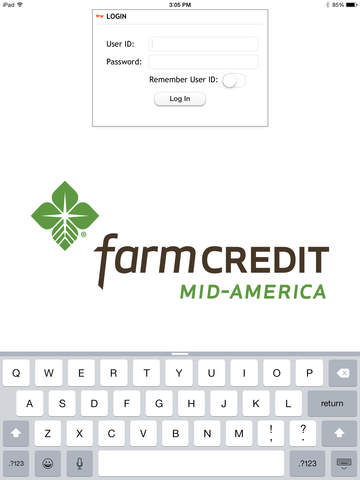 Farm Credit Mid-America Mobile Banking for iPad