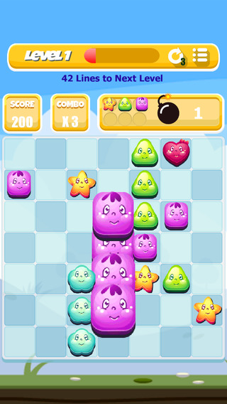 Yummy Swap - Match 4 Puzzle Game