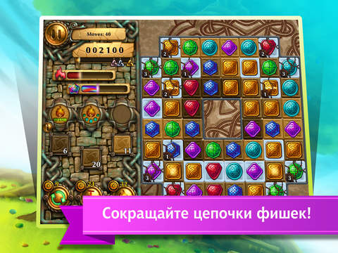 Скачать игру Jewel Tree: Match It free to play puzzle
