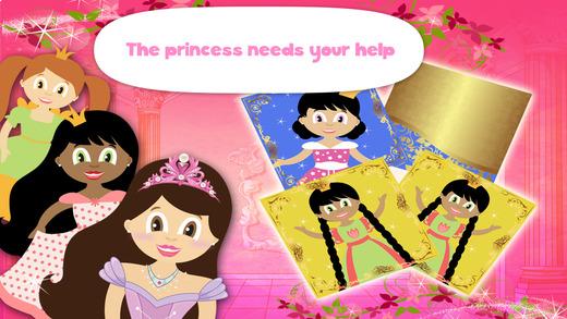 Princess Zoe Memo Puzzle Free