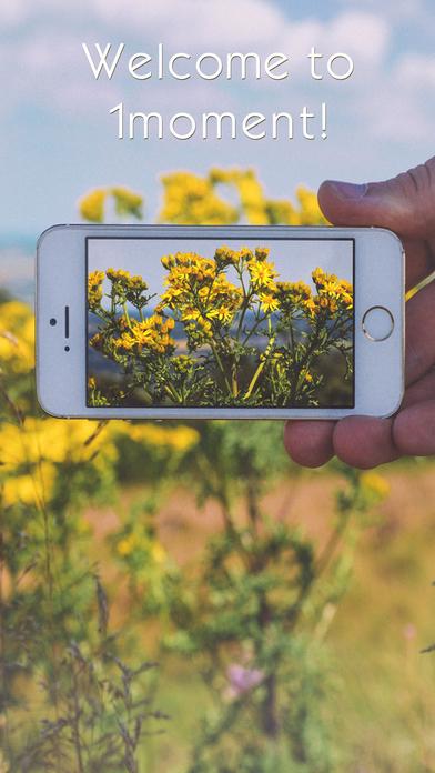 1moment - Photo & Video Sharing screenshot