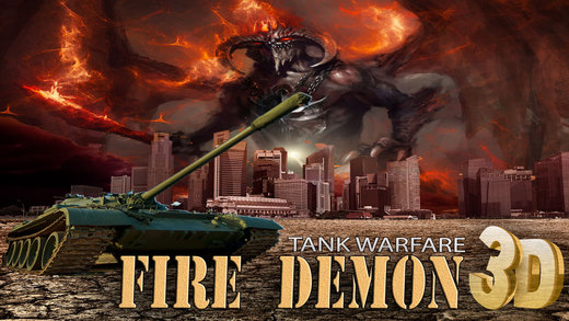 Fire Demon XI 3D - In A Retro Madness Tank War Game
