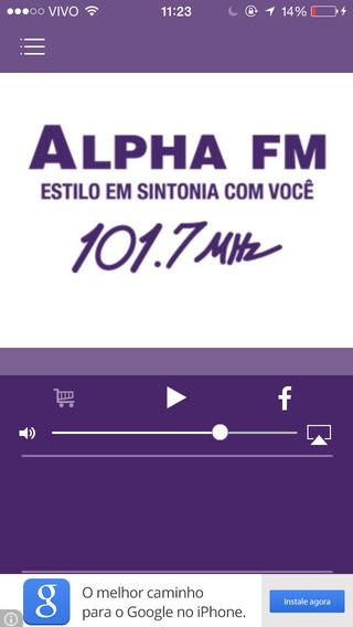 Alpha FM Estilo em sintonia com você
