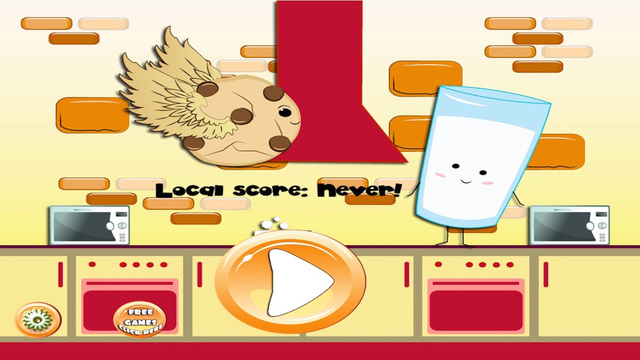Super Cookie and Milk - Classic Home of Sweet Doodle Mama Dash Crunch Free 2