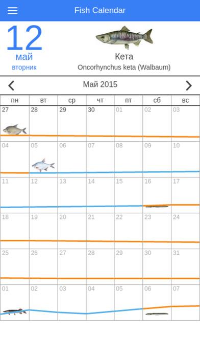 все календари клева рыбы