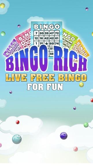 Bingo Rich - Free Bingo For Fun
