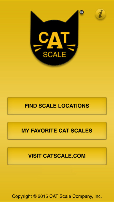 CAT Scale Locator iPhone Screenshot 1
