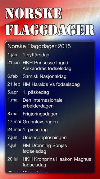 Norske Flaggdager