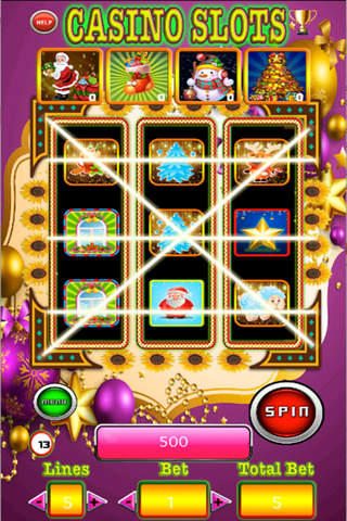 777 Awesome Free Slots-Play Casino Of Merry Christmas Day screenshot 4