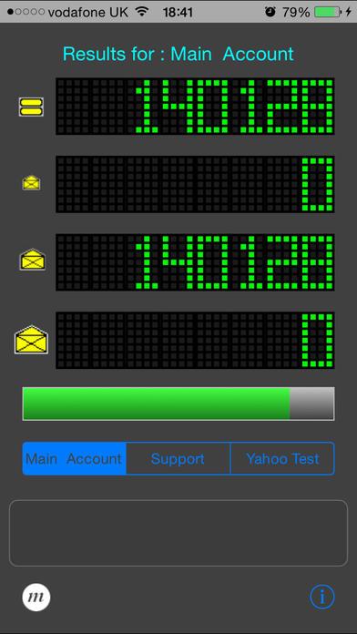 Pop3Count iPhone Screenshot 2