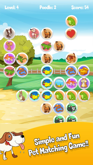A Bubble Pets Pop Game - Tap the Little Animals FREE
