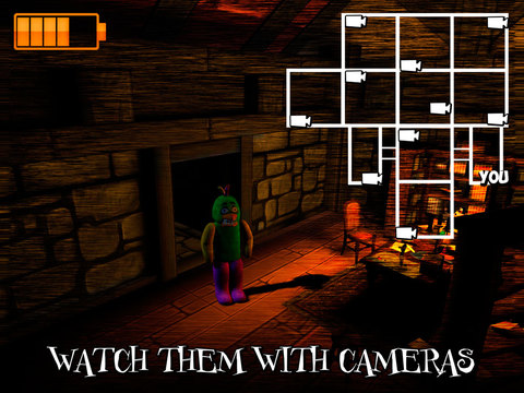 Nights at Old Cartoon Mansion 3D Full Screenshots