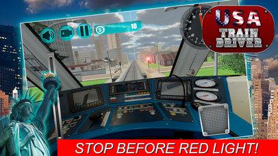 USA Train Driver Simulator 3D screenshot 3