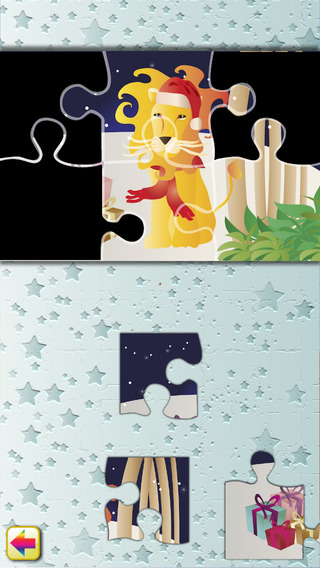 Xmas Puzzles Christmas Jungle Animal Jigsaws