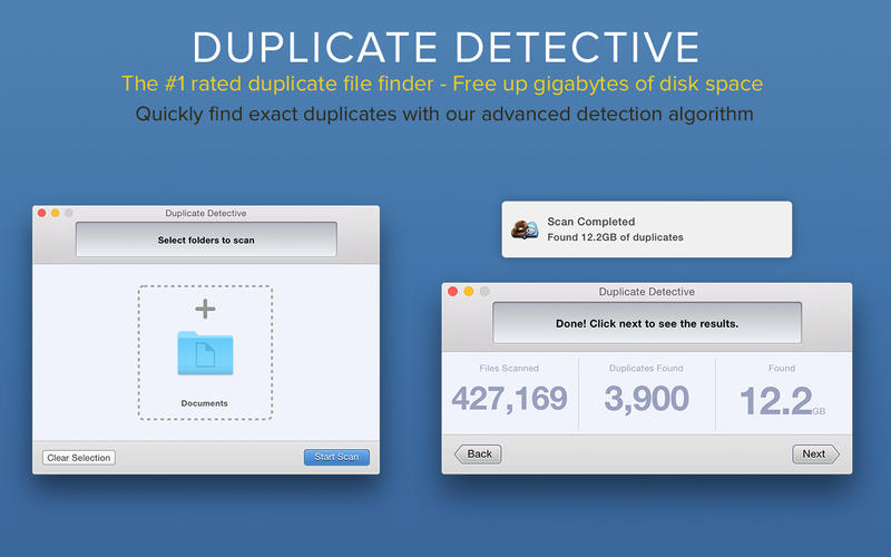 Duplicate Detective - Find and Delete Duplicate Files Screenshots