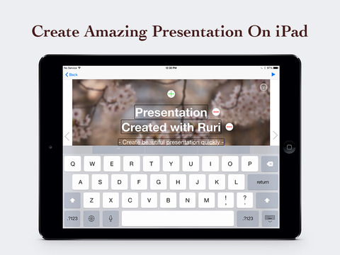 Ruri : Create beautiful presentations quickly