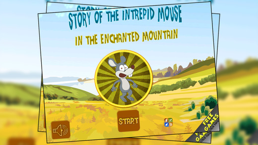 Story of the intrepid mouse in the enchanted mountain