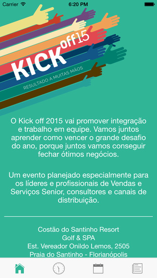 Senior Kick off 2015