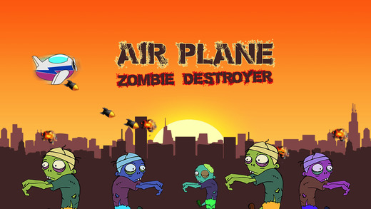 Air Plane Zombie Destroyer Pro - Top aeroplane shooting game