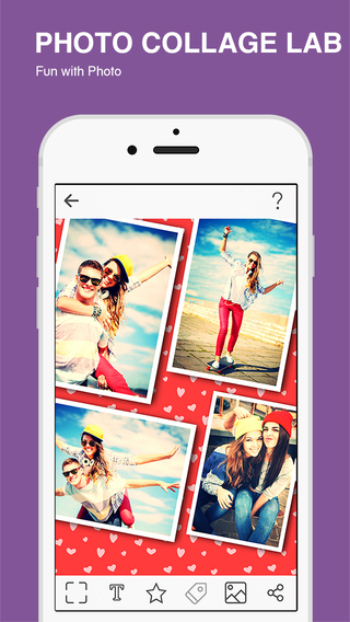 PhotoFrame - the Best Photo Frame & Fotos Collage FREE for iOS - Free download and software reviews