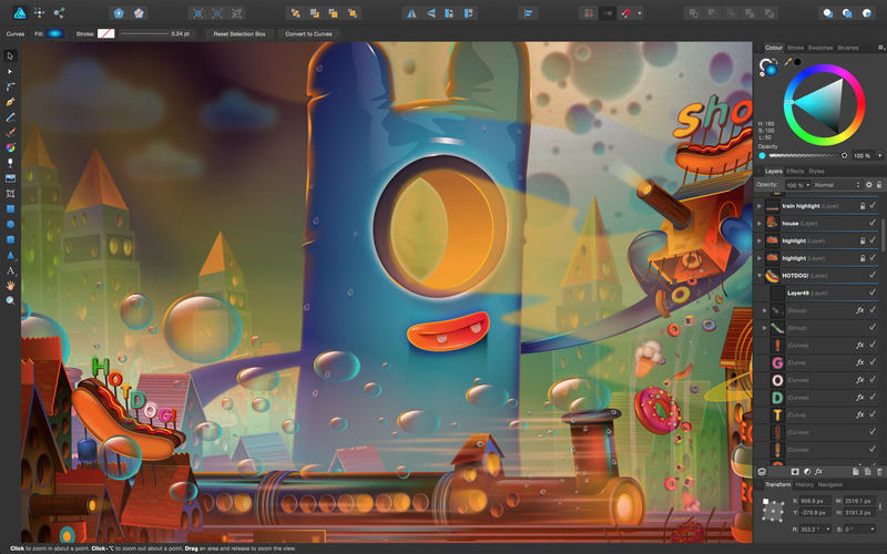 Affinity Designer Screenshot - 1