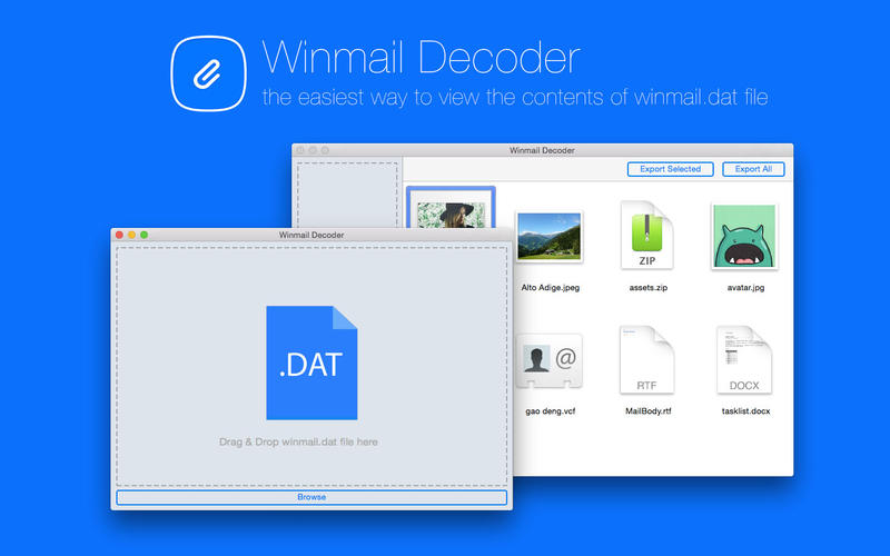 Winmail Decoder Screenshot - 1