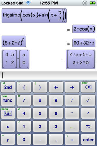 Symbolic Calculator