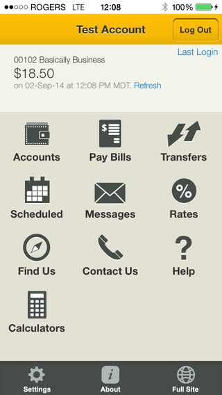Chinook Financial Mobile App