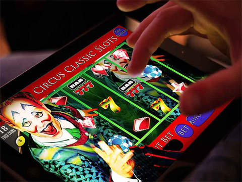 *777* A Abbies Las Vegas Circus Jackpot Classic Slots Machine-ipad-0