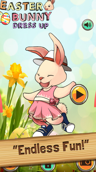 Easter Bunny Dress Up - Rabbit Egg Boutique Fun App